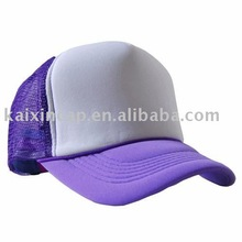 Promotional New Style Two Tone Blank Trucker Mesh Caps and Cheap Truck Hats