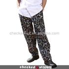 fashion chef trousers#Cheap chef pants/stripe chef pants*baggy cooking pants/hot-sale kitchen trouser