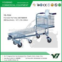 Flatbed warehouse cart (YB-F4)