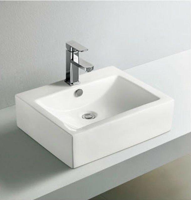 Yc02 louças sanitárias pia do banheiro cerâmicaPias para banheiroID do pro -> Pia Para Banheiro De Ceramica