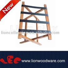 LEC-R062 wooden hotel luggage rack