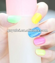 new arrivel glow in dark polish 10colors from YuFei nail art factory