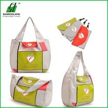 Guangzhou Non Woven Fodable bag Eco Nylon Foldable Shopping Bag