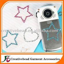 Bling Rhinestone Crystal Cell phone Sticker