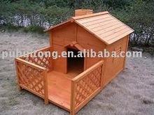 Dog House with balcony