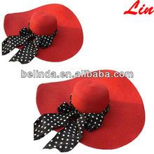 wholesale alibaba sombrero de paja Chapeau de paille fashion floppy paper straw hat