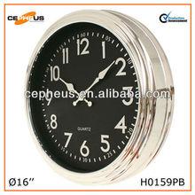Plating Plastic Wall Clock Theme