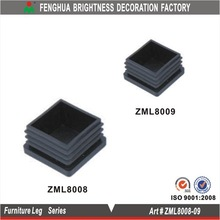 2015 Square plastic feet; pastic pads for metal furniture leg