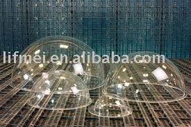 Creux en plastique sphères entre 6 et 12 polegadas diamètre