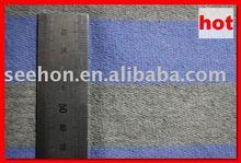 Mini Matt Stripe Fabric /1 cm and navy and Grey yarn dyed zebra