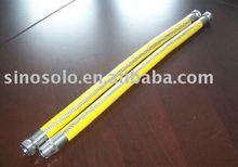EN14800 stainless steel braided gas hose