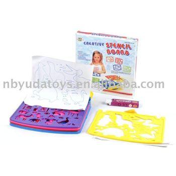 Ningbo Sunrise/ICTI factory/2014 hottest toy/plastic stencil