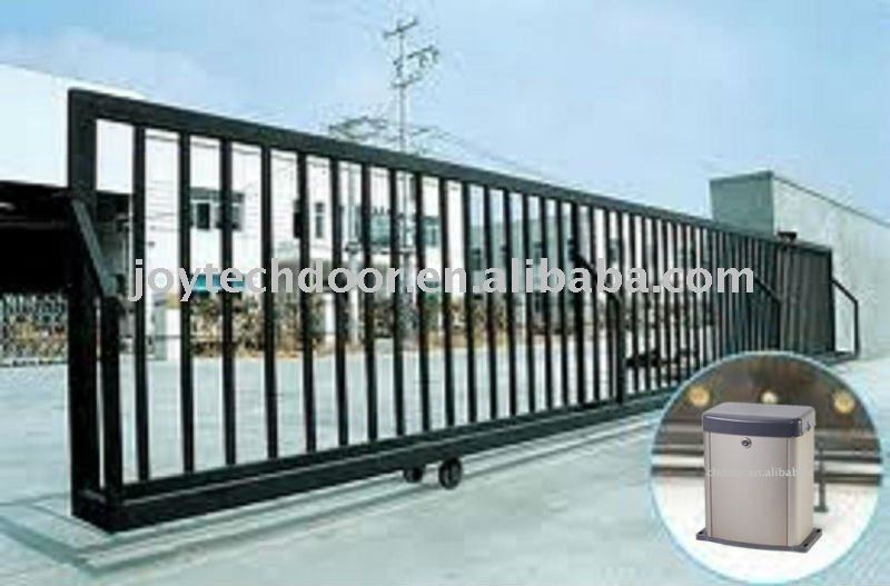 Dc Motor Solar Automatic Sliding Gate Operator Door Opener: electric gate motors prices