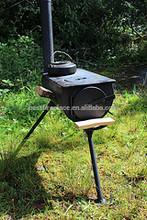 Portable Wood Camping Stove