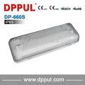 2013 lo nuevo de emergencia de la lámpara mamparo DP660S IP65 hembra pasantes 2 x 8 w fluorescente luz de emergencia