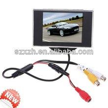 3.5 inch screen Digital TFT display reversing camera parking sensor