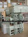 Se instaló impulsor cemento Packer / Semi automático BGYJ-2 impulsor de alimentación de cemento de la máquina de embalaje