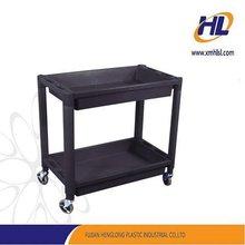 plastic shelf with wheels mold