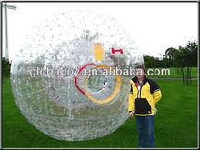 inflatable zorb ball/glassplot ball/zorb ball rental