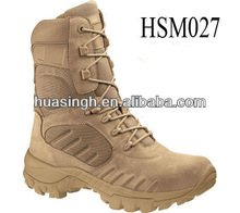 8 inch high quality suede leather new military style desert boots 2012