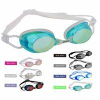 mirrored swimming goggles,swim goggles,swimming pool goggles