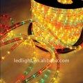 2014 100 metros piso 4 hilos led que cambia de color luz de la cuerda al aire libre de navidad decoración de la casa