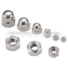 Cap hex nut DIN1587 cap nut ISO9001-2008 APPROVE