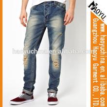 wholesale blue jeans men unbranded denim jeans (HY1795)