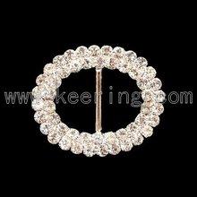 fashion rhinestone buckle belt clip WCK-548