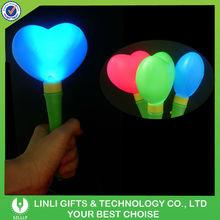 Heart Shape LED Lighted Up Flashing Magic Wand