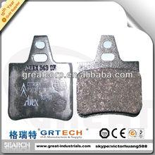 Best quality rear disc brake pads for car citoren xantia 2000cc,1800cc