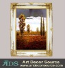 Handmade Landscape Oil Painting with Frame