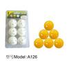 A126 hollow plastic golf balls\ practice golf balls\ cheapest golf balls