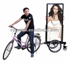 J4B-018 Wholesale distributors bicycle advertising billboard trailer with Fashionable design