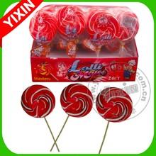 85g Rainbow Big Lollipop Candy