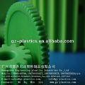 de plástico verde de engranajes internos