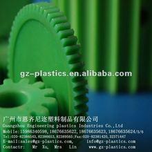 plastic green internal gears