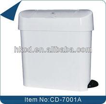 15L Pedal-powered trash bin