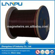 Motor winding wire size 155/180 class enameled aluminum