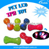2014 new design pet rubber toys with led Alibaba manufacturer