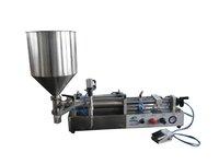 XBGZJ-500W Semi-auto Milk Liquid Bottle Pneumatic Filling Machine