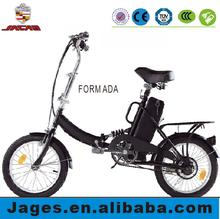 "electric bicycle folding bike 16 """