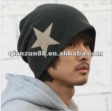 Custom Patch Winter Beanies Hat /2014 Fashion Beanie / Mens Knitted Beanie Hat