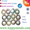 wholesale stainless steel floating charm lockets