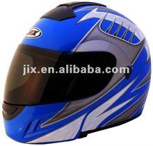 2015 new ABS material Flip up motorcycle helmet JX-A111 DOT/ECE