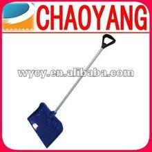 54.3-inch Blue Heavy Duty Plastic Snow Shovel