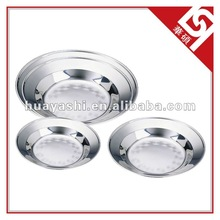 Stainless Steel Serving Food Plate for Kitchen Ware