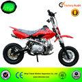 2014 novo ce aprovado china super moto motos de bolso 110cc mini-barata pit bike para kidcross