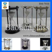 2013 Warm Welcome !!! Large Decorative Antique Brass Souvenir Hourglass Sand Timer 15 Minute BM-7010