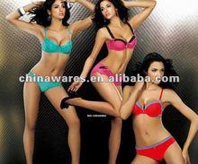 2015 New desgin high quality girls underware bra set